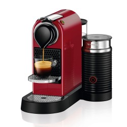 CAFETIERE NESPRESSO CITIZ MILK ROUGE