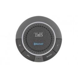 Kit mains libres Bluetooth pare-soleil + ventouse - noir TNB