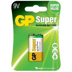 PILE SUPER ALKALINE 9V GP