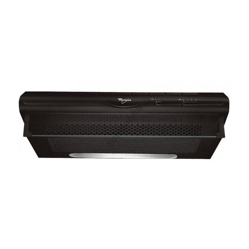 hotte aspirante 60cm noir whirlpool. Black Bedroom Furniture Sets. Home Design Ideas