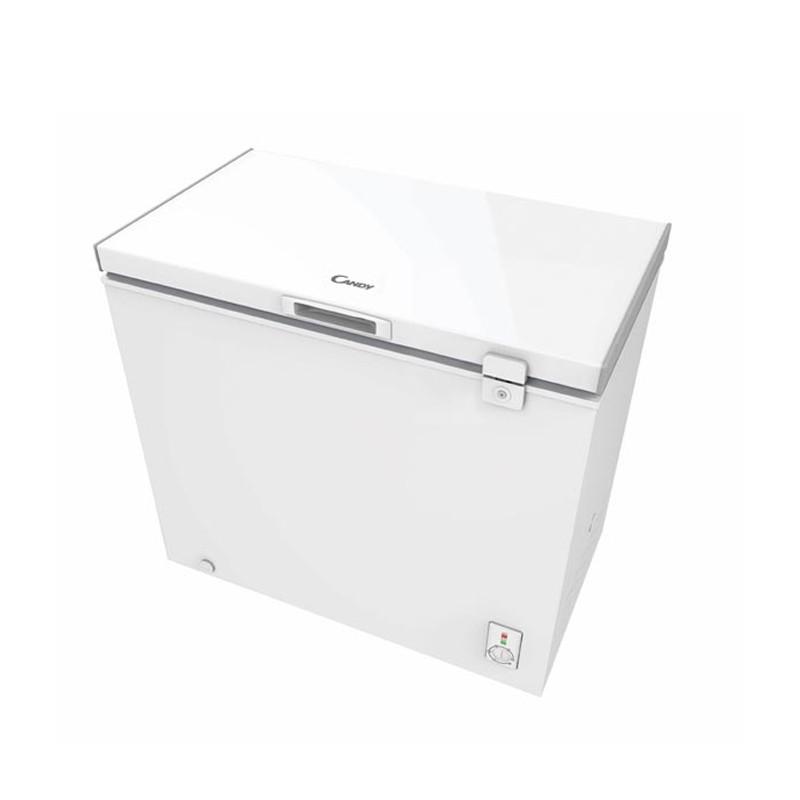 congelateur coffre 200l blanc candy. Black Bedroom Furniture Sets. Home Design Ideas