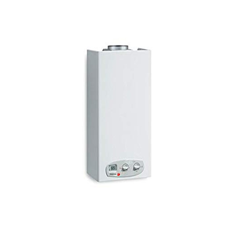 chauffe eau a gaz 6l avec securite allumage automatique fagor. Black Bedroom Furniture Sets. Home Design Ideas