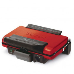 GRILLE VIANDE ULTRA COMPACT 600 ROUGE TEFAL