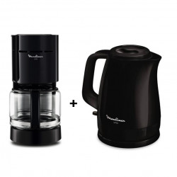 PACK CAFETIERE FG1218 + BOUILLOIRE BY1508 MOULINEX