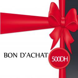BON D'ACHAT 500 DH