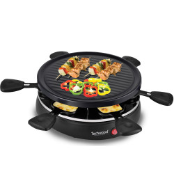 RACLETTE / GRILL 6 PERSONNES TECHWOOD