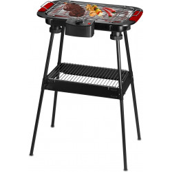 BARBECUE ELECTRIQUE AVEC PIEDS 200W THERMOSTAT TECHWOOD