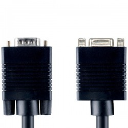 EXTENSION CABLE VGA MONITOR HD15VGA M - F 5.0m BANDRIDGE