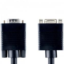 EXTENSION CABLE VGA MONITOR HD15VGA M - F 5.0m BANDRIDGE
