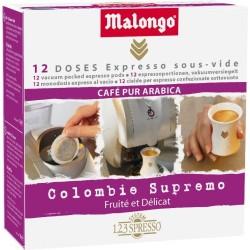 LOT DE 12 CAPSULES COLOMBIE MALONGO