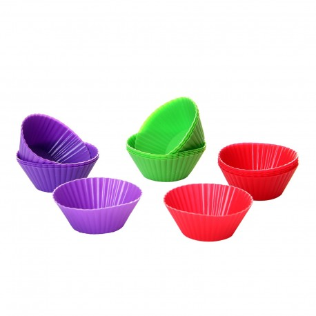 S/6 MOULE MADELEINES 3/C SILICONE