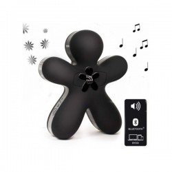 DIFFUSEUR AVEC SPEAKER BLEUTOOTH GEORGE SOFT TOUCH BLACK (0880)