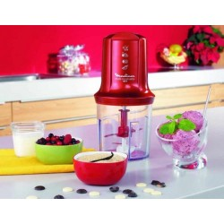MINI HACHOIR MULTIMOULINETTE ROUGE MOULINEX