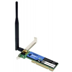 WIRELESS-G PCI CARD 802.11g LINKSYS